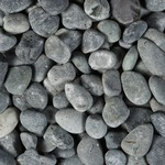 Beach Pebbles Zwart 40-60 mm